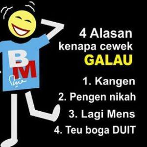 50 DP BBM Bahasa Sunda Lucu
