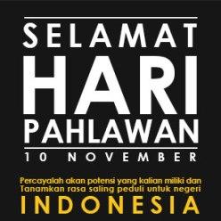 DP BBM Memperingati Hari Pahlawan 10 November