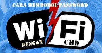 cara hack wifi dengan cmd