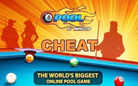 cara cheat 8 ball pool garis panjang android
